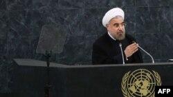 Rohani za govornicom u Generalnoj skupštini UN