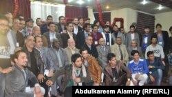 مشاركو في الملتقى الاول للمسرحيين الشباب في البصرة