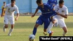 Одна из игр в рамках матчей за кубок Таджикистана. Душанбе, 28 августа 2013 года.