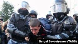 Несанкционированная акция оппозиции в Москве, 3 августа 2019 года