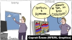 Russia -- Cartoon of the day by Sergey Elkin