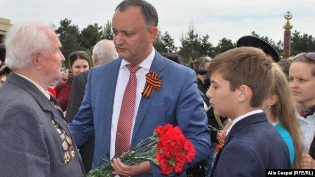 Socialist leader Igor Dodon