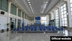 Аэровокзал в Ташкенте.