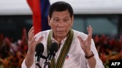 رودریگو دوتیرتِه رئیس جمهور فیلیپین