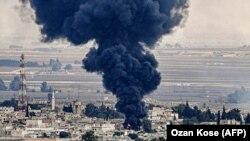 Наслідки бомбардування сирійського міста Рас ель-Айн в рамках військової операції Туреччини в Сирії, 16 жовтня 2019 року