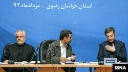 محمدرضا رحیمی (چپ)