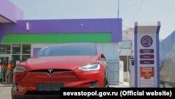 Заправка для електротранспорту в Севастополі