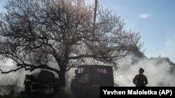 Donetskdə ukraynalı hərbçi