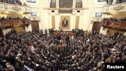 Миср парламенти йиғини, Қоҳира, 2012 йилнинг 23 январи.