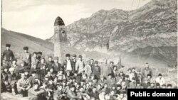 Кавказ -- Нохчийн юрт, ХIайбах,1989
