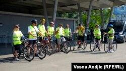 Memorijalna biciklistička trasa Beograd - Srebrenica
