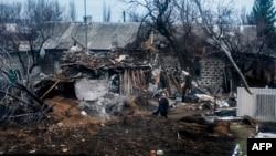 Зруйнований будинок на Луганщині, ілюстративне фото
