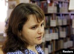 """Tatyana Muntyan: """"They planted these books."""""""