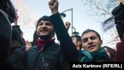 """Üzeyir Məmmədli və Rəşad Həsənov 10 mart """"Əsgər ölümlərinə SON!"""" aksiyasında"""