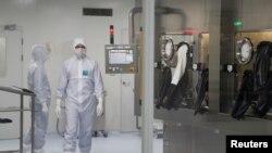 Fotografija iz jedne od laboratorija za izradu vakcine u Rusiji
