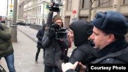 Задержания на акции против систем распознования лиц, 9 февраля 2020