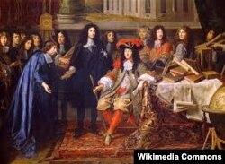 Король Франции Людовик XIV в окружении придворных. Абсолютный монарх далеко не всегда правит, как хочет