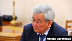 Бішкек қаласының экс-мэріКубанычбек Кулматов.