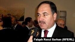 رافع العيساوي، متحدثاً لإذاعة العراق الحر أيام كان يشغل منصب وزير المالية