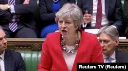 Theresa May a propus un acord de ieșire din UE respins de două ori de parlamentarii britanici
