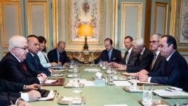14 сентября 2014 г. Париж. Заседание конференции по ситуации в Ираке.