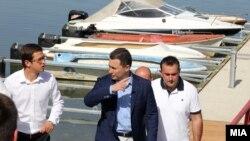 Груевски во посета на Дојран