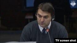 Ljubodrag Gajić u sudnici 26. listopada 2015