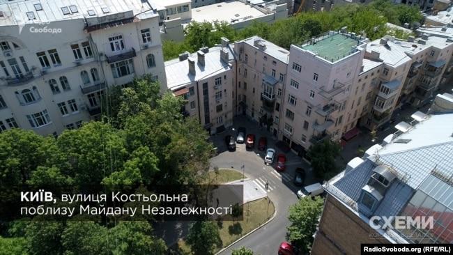 Будинок на Костьольній у центрі Києва, в якому Конохов придбав квартиру на 55 квадратів
