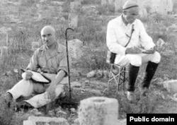Усеин Боданинский на раскопках