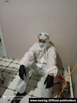 Кыргызстандагы медициналык мекемелердин биринде тартылган сүрөт.