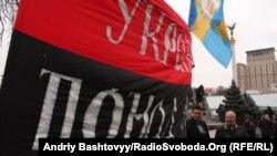 Так начиналась 22 ноября акция на Майдане в Киеве