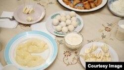 Иллюстративное фото на тему о молочной продукции из Кыргызстана.