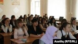 Казанның Галимҗан Ибраһимов исемендәге 17нче гимназиясе укучылары