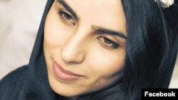 """Iranian poet Fatemeh Ekhtesari was sentenced to 11 1/2 years in prison and 99 lashes for """"insulting sanctities"""" in her writing."""
