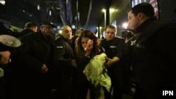 С повреждением в области виска Анна Субелиани была доставлена в больницу