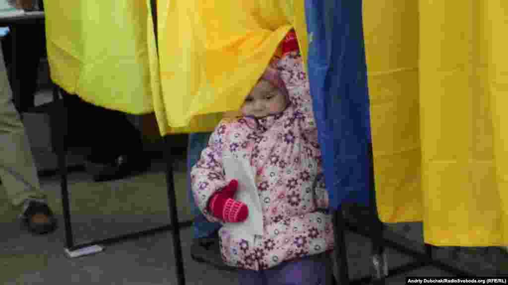 Голосування на 223 окрузі у Києві