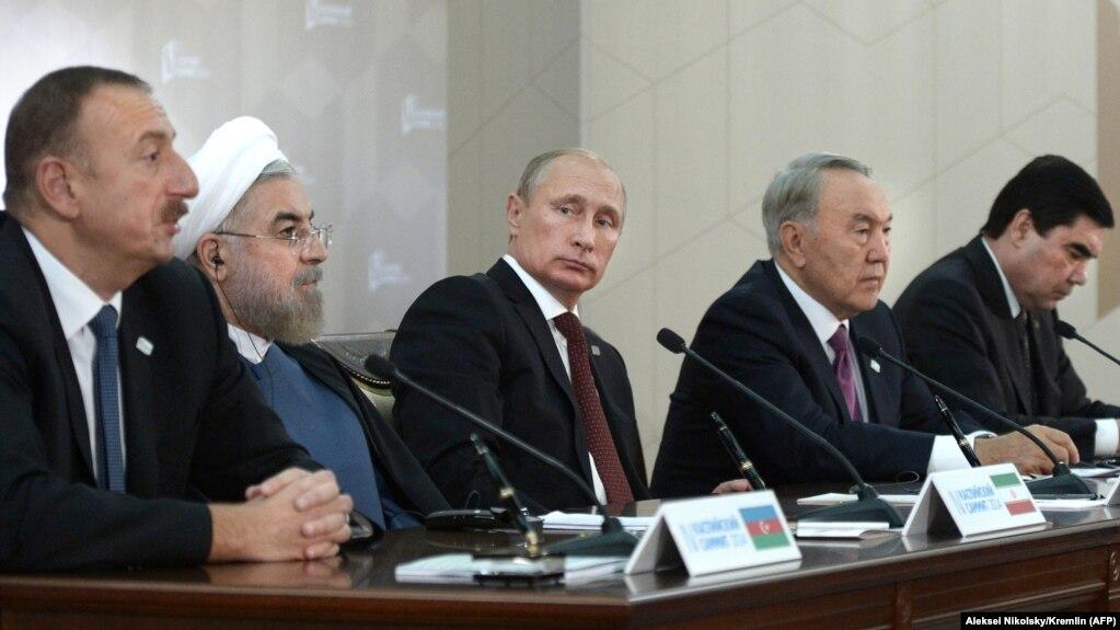 اجلاس پیشین رهبران کشورهای حاشیه دریای خزر