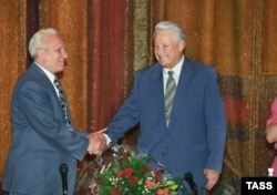 Сергей Филатов и Борис Ельцин
