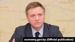 Аляксандар Чарвякоў, міністар эканомікі Беларусі