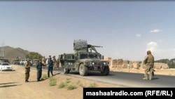 FILE: An Afghan army patrol in Logar Province.