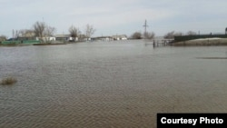 Поплавите во Казахстан