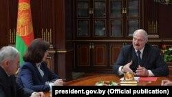 Аляксандар Лукашэнка на нарадзе 25 траўня