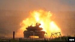 Танк Т-90. Иллюстративное фото.