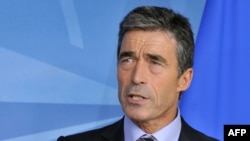 NATO chief Anders Fogh Rasmussen
