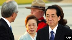 The office of the Japanese Prime Minister Naoto Kan has called for China to remain calm
