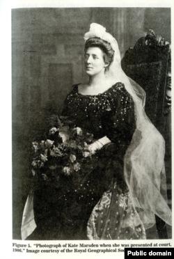 Кэт Марсден в суде, 1906 год