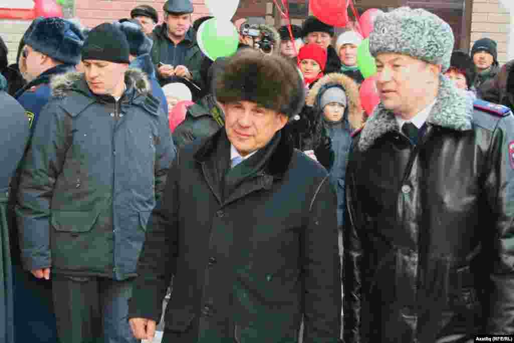Рөстәм Миңнеханов белән Әсгать Сәфәров