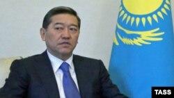 Серік Ахметовтың Қазақстан премьер-министрі кезіндегі суреті. 20 қараша 2013 жыл.