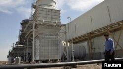 محطة توليد كهربائية في بغداد