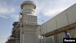 محطة كهرباء عراقية